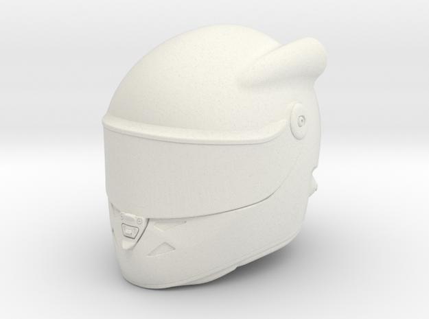 Full Face Helmet for Axial Interiors VAR.3 in White Natural Versatile Plastic