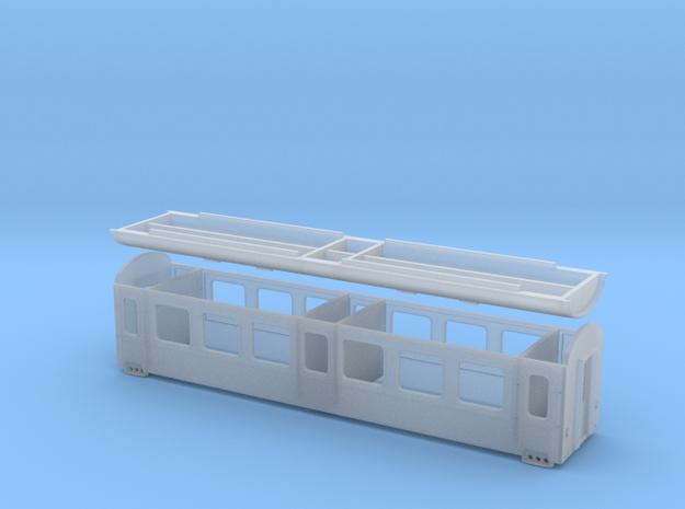 BDŽ B in Smooth Fine Detail Plastic: 1:87 - HO