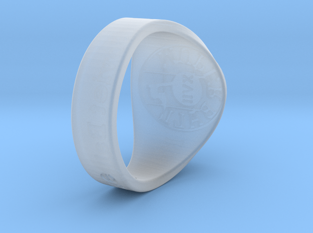 Muperball Kamikaze Ring S17 in Smooth Fine Detail Plastic