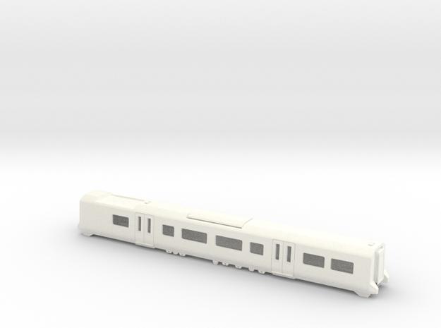 380 TOS Bodyshell N Gauge in White Processed Versatile Plastic