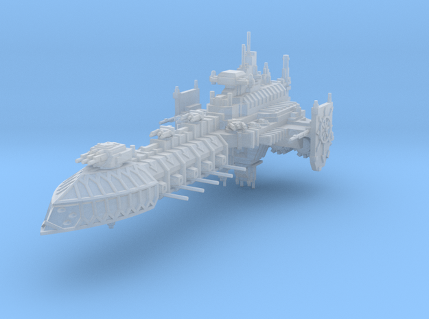 Barcaza de Batalla Corrupta B in Smooth Fine Detail Plastic