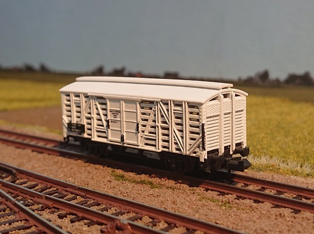 NS Kippenwagon Hs in Smoothest Fine Detail Plastic