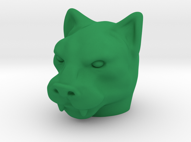 TEWOJ Grar Head in Green Processed Versatile Plastic