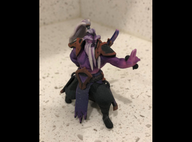 Void Spirit Capturing Outpost in Natural Full Color Sandstone: Small