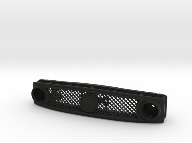 Axial UMG10 Mercedez-Benz mask (NO ARROWS) in Black Natural Versatile Plastic: 1:10