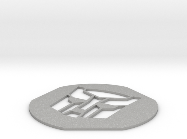 Mirro Cookie Press Autobot Symbol in Aluminum