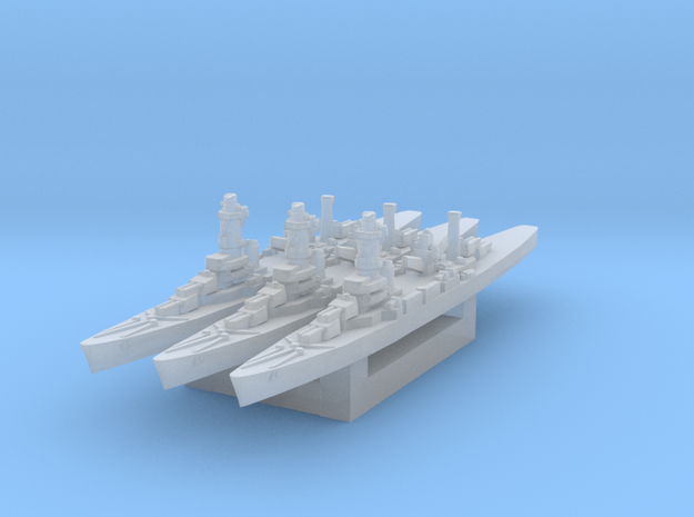 Algérie 1/3000 in Smooth Fine Detail Plastic