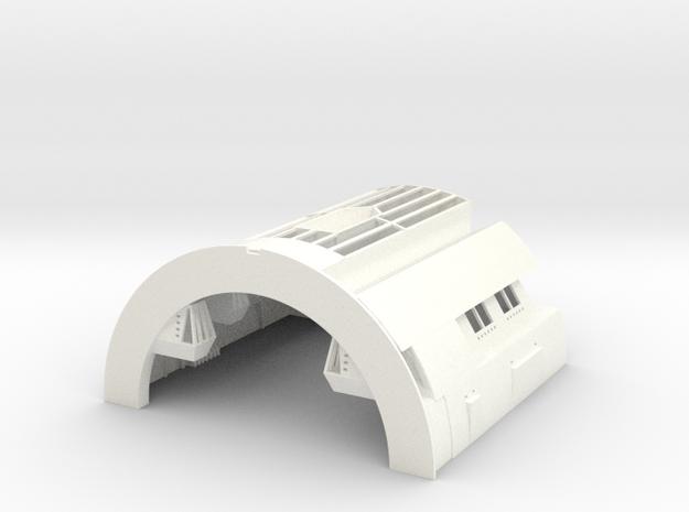 1/170 TOS Hangar for Scale Specialties Enterprise in White Processed Versatile Plastic