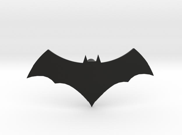 Batman Logo | CCBS Scale in Black Natural Versatile Plastic
