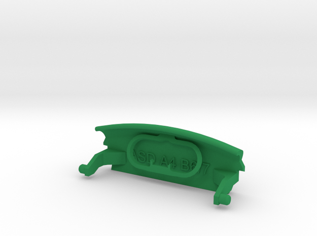 Audi A4 B6 armrest lid with spring Quattro 3d printed