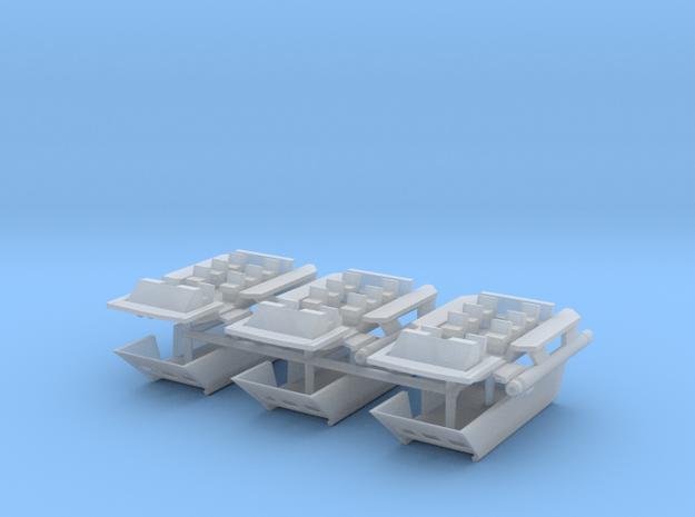 1/172 TOS Shuttle Craft with Open Door in Smooth Fine Detail Plastic