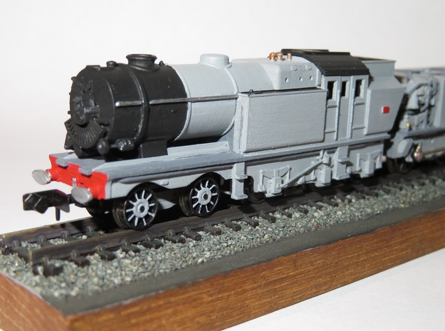 N Gauge Beyer-Ljungstrom Turbine Locomotive #1 in Smooth Fine Detail Plastic