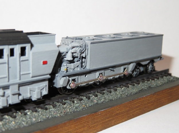 N Gauge Beyer-Ljungstrom Turbine Locomotive #2 in Smooth Fine Detail Plastic