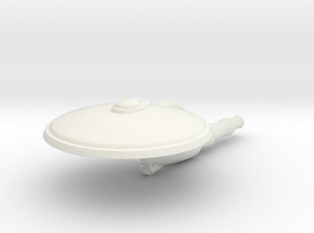 Uss America in White Natural Versatile Plastic
