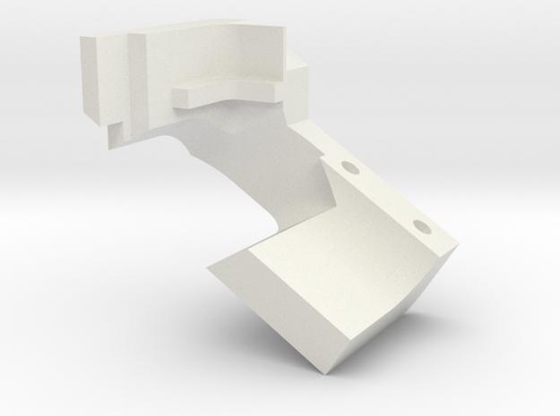 DetectionPathHeatShield_top in White Natural Versatile Plastic