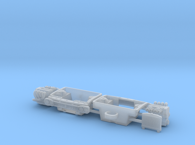 Datsun 620 Engine bay w. SR20 & Hako Conversion in Smooth Fine Detail Plastic