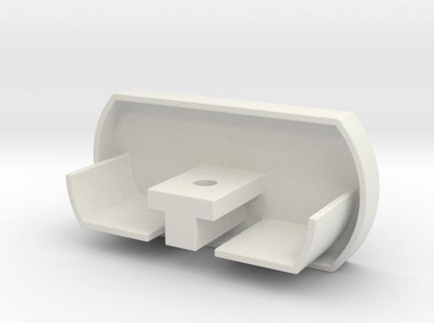 ikea KVARTAL 3 Rail end-cap in White Natural Versatile Plastic