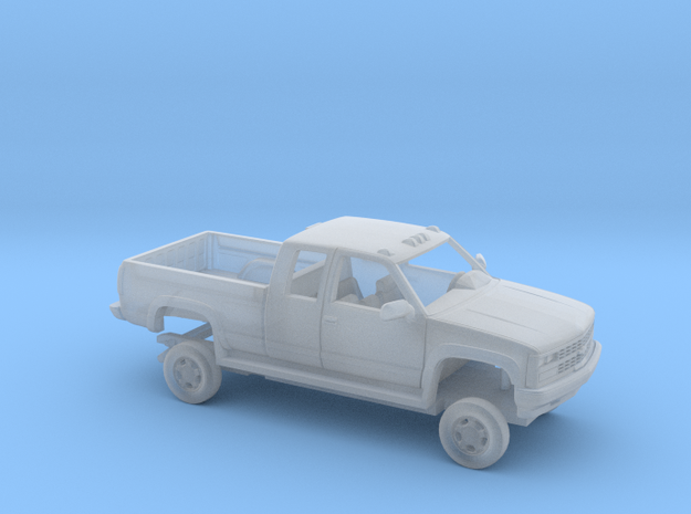 1/160 1989 Chevrolet Silverado Extendet Custom Cab in Smooth Fine Detail Plastic
