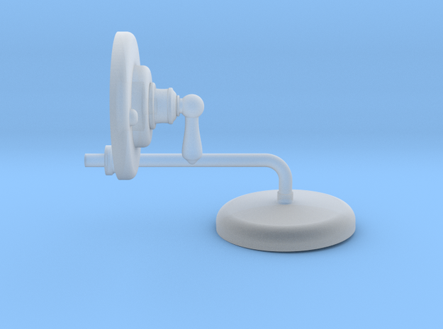 Shower Head and Valve: Deco in Smooth Fine Detail Plastic