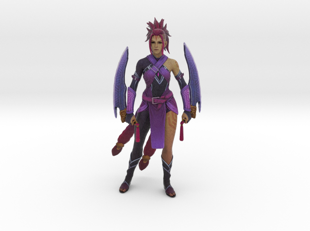 Female Anti-Mage Persona Wei in Natural Full Color Sandstone