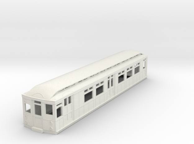 o-87-district-b-stock-motor-luggage-coach in White Natural Versatile Plastic