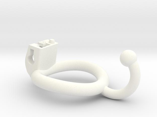 Custom CK Ring CKR-Z5EXBX-20 - 36mm Ball Hook in White Processed Versatile Plastic