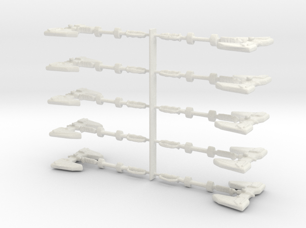 Masteraxe1 in White Natural Versatile Plastic