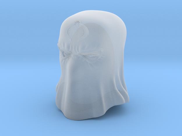 Hooded Cobra Commander in Smooth Fine Detail Plastic