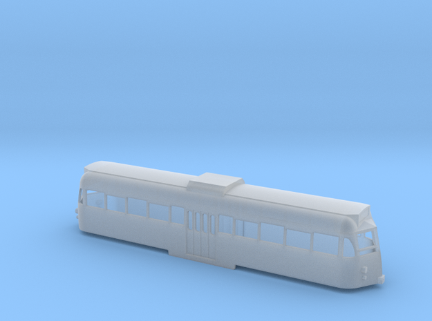 N Gauge Blackpool Brush Car - 1970s/80s condition in Smooth Fine Detail Plastic