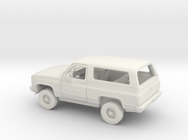 1/43 1989-91 Chevrolet Blazer Kit in White Natural Versatile Plastic