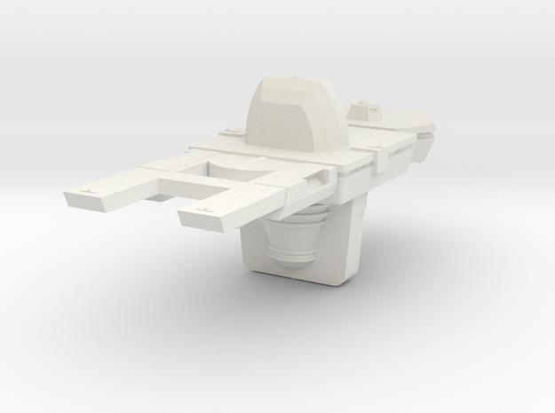 1000 Antares Hull in White Natural Versatile Plastic