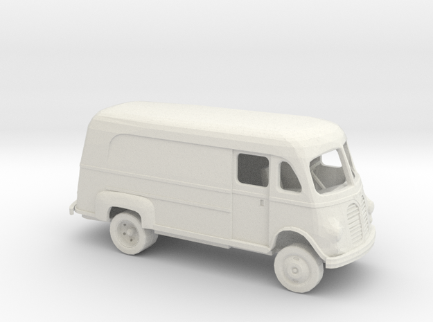 1/72 1950 International Metro Van Dually Kit in White Natural Versatile Plastic