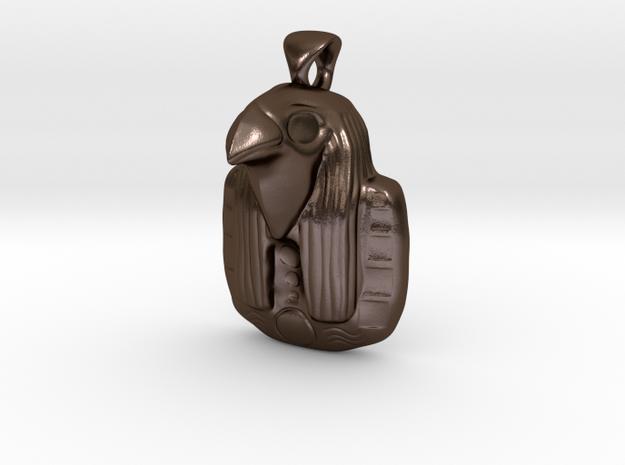 Egyptian God Ra Pendant 3d printed
