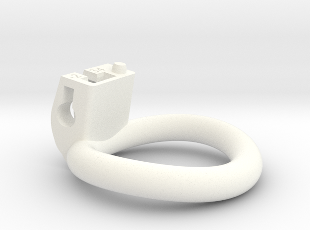 Cherry Keeper Ring - 34mm -2° in White Processed Versatile Plastic