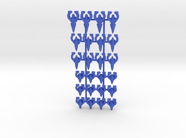 Omega Generic Fleet 1 in Blue Processed Versatile Plastic