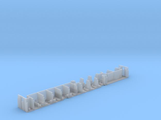 6-1-4 Pullman (Plan 4092) - Interior in Smooth Fine Detail Plastic