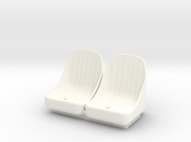 FA20006 Sand Rail Seat in White Processed Versatile Plastic
