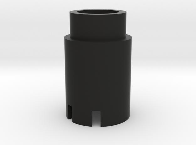 Spitfire fuel button body in Black Natural Versatile Plastic
