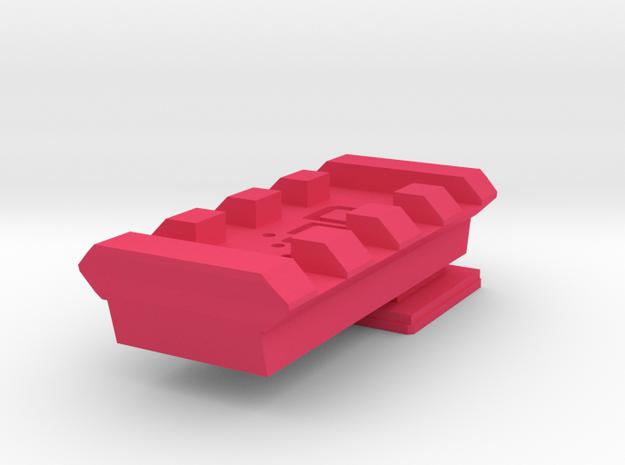Flash Hot Shoe Picatinny Rail (4 slots)
