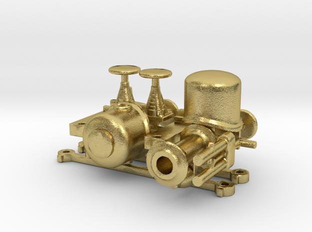 NCS-SS-NS-NTM Maffei lok 1:87 H0 messing delen in Natural Brass
