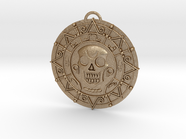 Pirates of Caribbean - pendant / necklace 3d printed