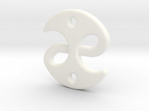 Fable medallion 3d printed