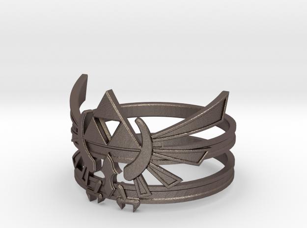 Triforce ring - Zelda - large sizes (23 to 27)