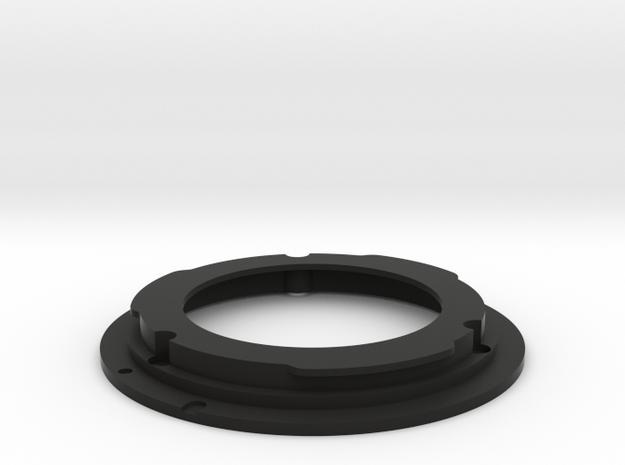 FL to EF mount for the 55mm f/1.2 in Black Natural Versatile Plastic