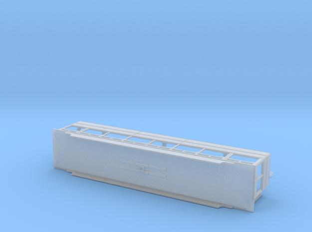 N Gauge Box Car 40 in Smooth Fine Detail Plastic