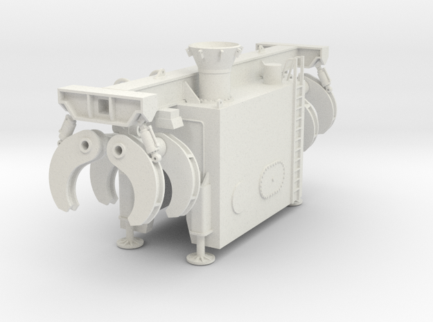 Hyperbaric Welding Chamber Seabex One in White Natural Versatile Plastic: 1:75