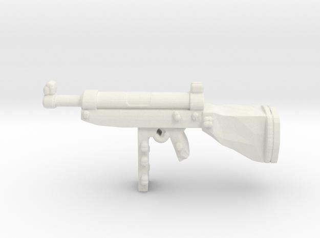 M2 smg in White Natural Versatile Plastic