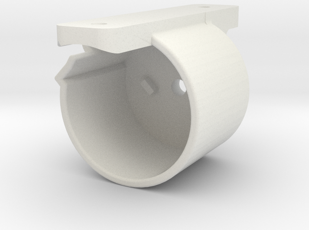 UniFi Protect G3 FLEX Camera Inverted Wall Mount-R in White Natural Versatile Plastic