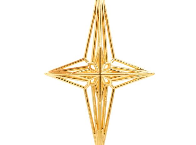 Soul Star Pendant in 18k Gold Plated Brass