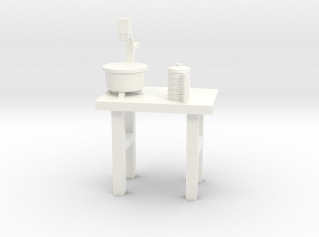 Lost in Space Equipment - Food Processor in White Processed Versatile Plastic